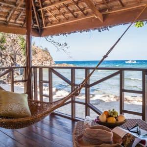 Club Paradise Palawan: Sunrise Villa | veranda