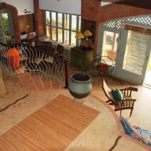 Ahilya by the Sea in Goa: Sunset Villa | Living Room
