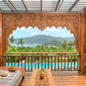 Santhiya Koh Phangan Resort & Spa in Ko Phangan: Supreme Deluxe | Balcony