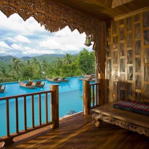 Santhiya Koh Phangan Resort & Spa in Ko Phangan: Supreme Deluxe Pool Access