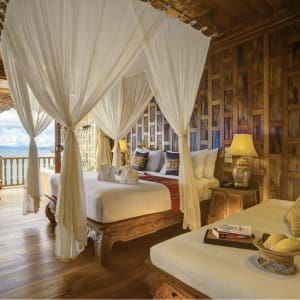 Santhiya Koh Yao Yai Resort & Spa à Ko Yao: Supreme Deluxe Sea View | Bedroom