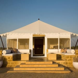 The Serai Desert Camp in Wüste Thar: Tented Suite | front