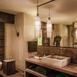 Phum Baitang in Siem Reap: Terrace Villa | Pool Villa | Bathroom