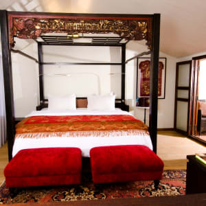 Seven Terraces in Penang:  Terraced Duplex Suite | King Bed