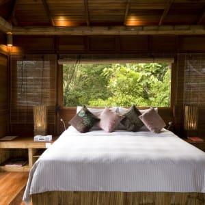 JapaMala Resort in Tioman:  Tree Top Chalet | Bedroom