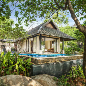 Vana Belle, a Luxury Collection Resort Koh Samui in Ko Samui: Tropical Pool Villa | From outside