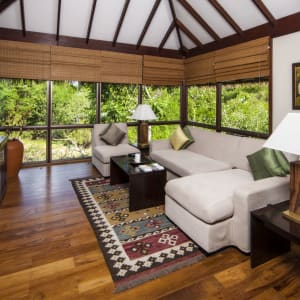 Ulagalla by Uga Escapes in Anuradhapura: Ulagalla Chalet | Lounge Area