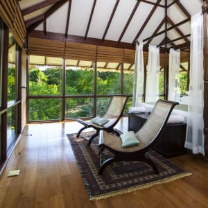 Ulagalla by Uga Escapes in Anuradhapura: Ulagalla Chalet | Master Bedroom