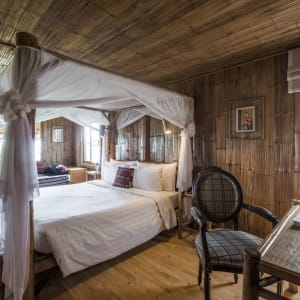 Auf den Spuren des Opiums ab Chiang Mai: room: Upper Mountain Cottage