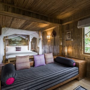 Le Triangle d'Or de Chiang Mai: room: Upper Mountain Cottage