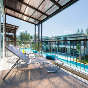The Waters Khao Lak by Katathani: Upper Pool Access (Waters Wing)