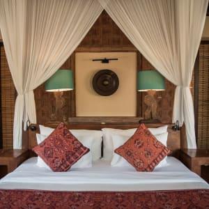 WakaGangga in Südbali: Villa Bedroom