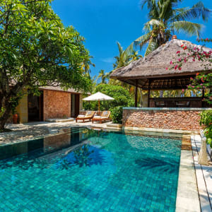 The Oberoi Beach Resort, Lombok: Villa Gardenview Pool