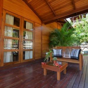 Popa Garden Resort in Bagan: Villa Terrace | Terrace