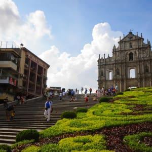 Macao historique & moderne: Ruins of St. Paul's