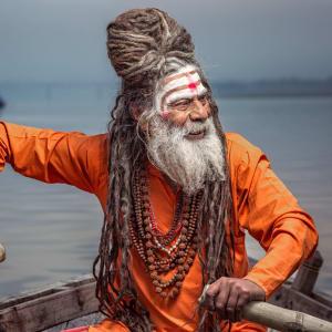 Reise zum heiligen Ganges ab Delhi: Sadhu