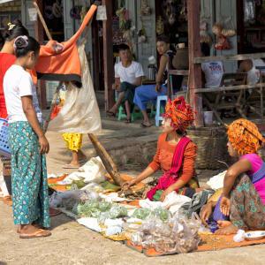 Le Myanmar authentique de Yangon: Sagar Lake Pekon Market
