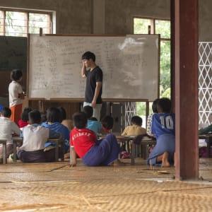 Le Myanmar authentique de Yangon: Sagar Lake School at Monastery