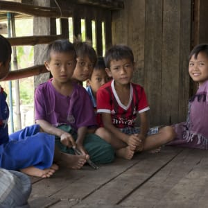 Le Myanmar authentique de Yangon: Sagar Lake Village Kids