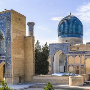 Sur les traces de Marco Polo le long de la route de la Soie de Pékin: Samarkand