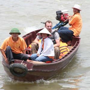 Croisières fluviales dans le delta du Mékong avec «Mekong Eyes» de Saigon: Sampanride