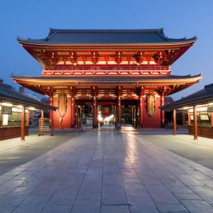 Vielfältiges Japan ab Tokio: Senso-ji (Kannon) Temple Asakusa