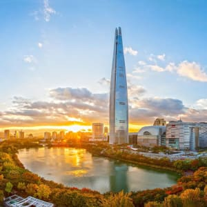 Kontrastreiches Südkorea ab Seoul: Seoul Lotte World Tower