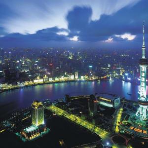 La Chine impériale avec une croisière sur le Yangtsé de Pékin: Shanghai Cityview by Night