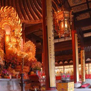 Les hauts lieux de la Chine de Pékin: Shanghai Longhua Temple