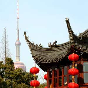 La Chine pour les fins connaisseurs avec une croisière de luxe sur le Yangtze de Pékin: Shanghai Yu Yuan Garden