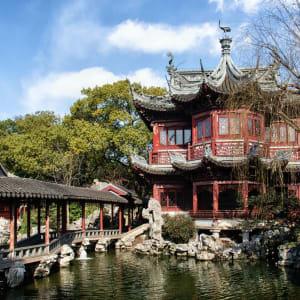 La Chine impériale avec une croisière sur le Yangtsé de Pékin: Shanghai Yu Yuan Garden