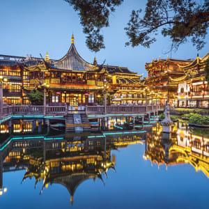 Les hauts lieux de la Chine de Pékin: Shanghai Yu Yuan Garden