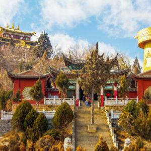 Circuit spectaculaire du Yunnan au Tibet de Kunming: Shangrila Tibetan Temple