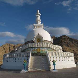 Ladakh luxuriös ab Leh: shanti stupa leh