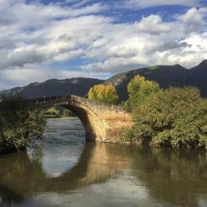 Circuit spectaculaire du Yunnan au Tibet de Kunming: Shaxi Bridge