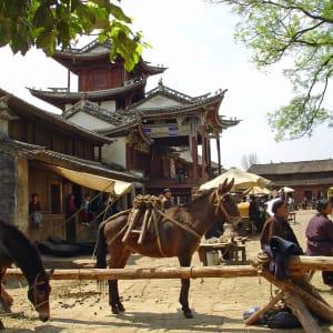 Les hauts lieux du Yunnan de Kunming: Shaxi: Traditional town