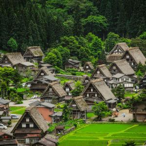 Les hauts lieux du Japon avec prolongation de Tokyo: Shirakawago Gokayama Village