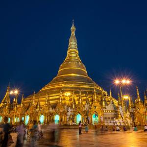 Au pays des temples et des pagodes de Yangon: Shwedagon Pagoda Yangon