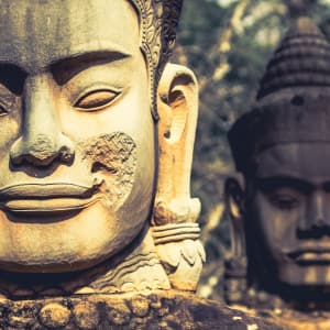 Voyage d'Angkor à Saigon de Siem Reap: Siem Reap Angkor Thom