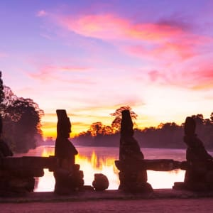 Good Morning Cambodia à Siem Reap: Siem Reap Angkor Thom at sunrise
