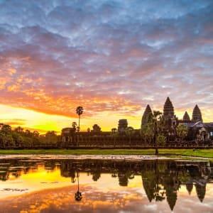 Les hauts lieux du Cambodge de Siem Reap: Siem Reap Angkor Wat