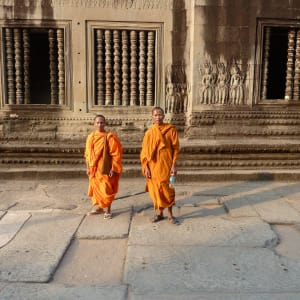 Voyage d'Angkor à Saigon de Siem Reap: Siem Reap Angkor Wat Monks