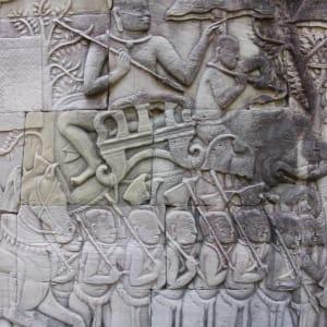 Voyage d'Angkor à Phu Quoc de Siem Reap: Siem Reap Angkor Wat relief