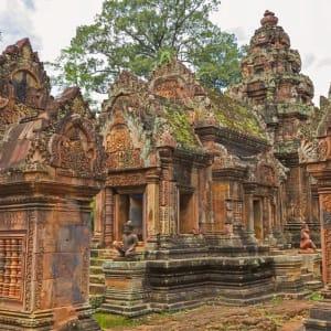 Angkor mystique de Siem Reap: Siem Reap Banteay Srei