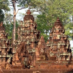 Découverte active de la merveille d'Angkor de Siem Reap: Siem Reap Banteay Srei