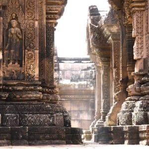 Découverte active de la merveille d'Angkor de Siem Reap: Siem Reap Banteay Srei temple