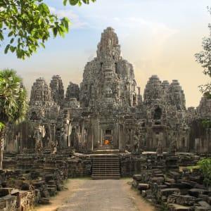Angkor mystique de Siem Reap: Siem Reap Bayon Temple