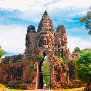 Découverte active de la merveille d'Angkor de Siem Reap: Siem Reap Bayon Temple