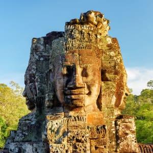 Voyage d'Angkor à Saigon de Siem Reap: Siem Reap Bayon Temple