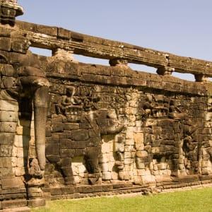 Les hauts lieux du Cambodge de Siem Reap: Siem Reap Elephant Terrace